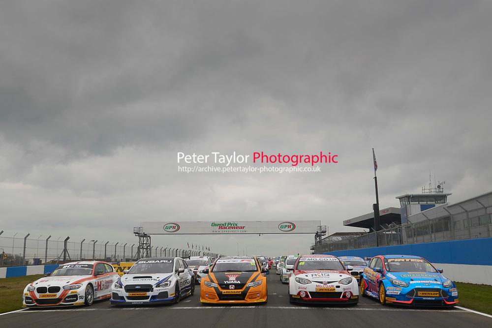 British Touring Car Championship Media day 2016.