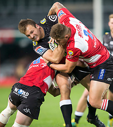Durban. 300618. Andre Esterhuizen during the Super Rugby match between Cell C Sharks and Emirates Lions and at Jonsson Kings Park Stadium on June 30, 2018 in Johannesburg, South Africa. Picture Leon Lestrade. African News Agency/ANA