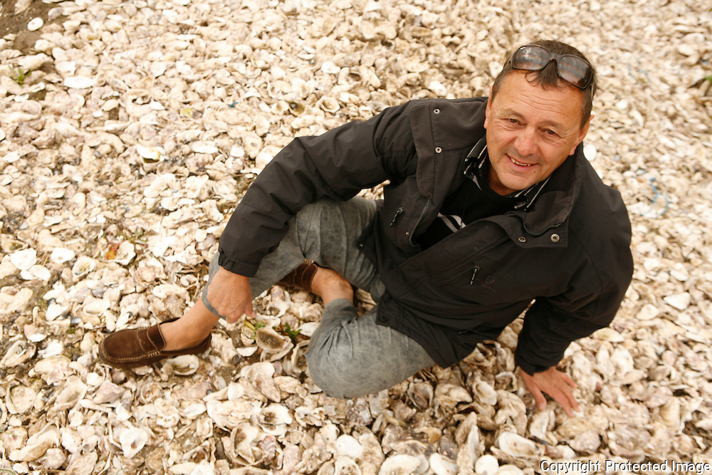 Gillardeau Oysters, considered the best in France - Gerard Gillardeau, the head of the family company