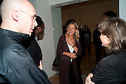 IWONA BLAZWICK, Private view for the Turner prize exhibition. Tate Britain. London. 4 October 2010. -DO NOT ARCHIVE-© Copyright Photograph by Dafydd Jones. 248 Clapham Rd. London SW9 0PZ. Tel 0207 820 0771. www.dafjones.com.