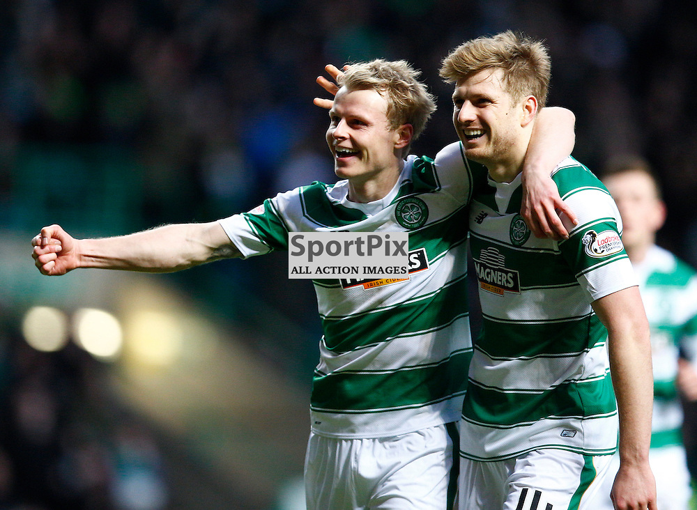 Celtic v St.Johnstone in the Ladbrokes Premiership....Gary Mackay-Steven celebrates making it 3-1 to Celtic.....(c) STEPHEN LAWSON | SportPix.org.uk