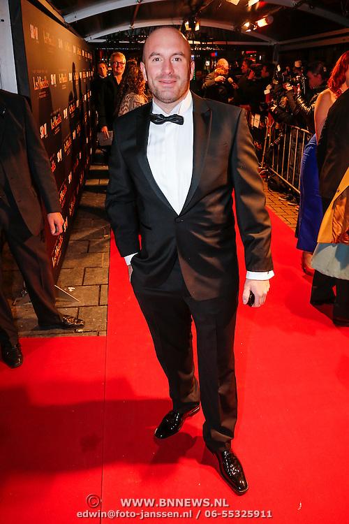 NLD/Amsterdam/20130109 - Filmpremiere Les Misarables, Dean Saunders