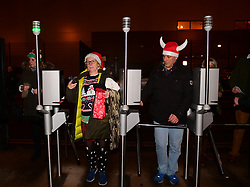 Fans enter through the turnstiles - Mandatory by-line: Alex Davidson/JMP - 22/12/2017 - RUGBY - Sixways Stadium - Worcester, England - Worcester Warriors v London Irish - Aviva Premiership