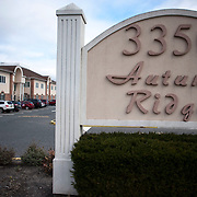 December 27, 2012 - Wall Township, NJ : Education & Health Centers of America, a nonprofit group which runs halfway houses, has office space at 3350 State Route 138 -- a busy stretch of divided highway near the Garden State Parkway in Wall Township, NJ. Pictured here is building 2, which houses suite 222, the address for Education & Health Centers of America. CREDIT: Karsten Moran for The New York Times