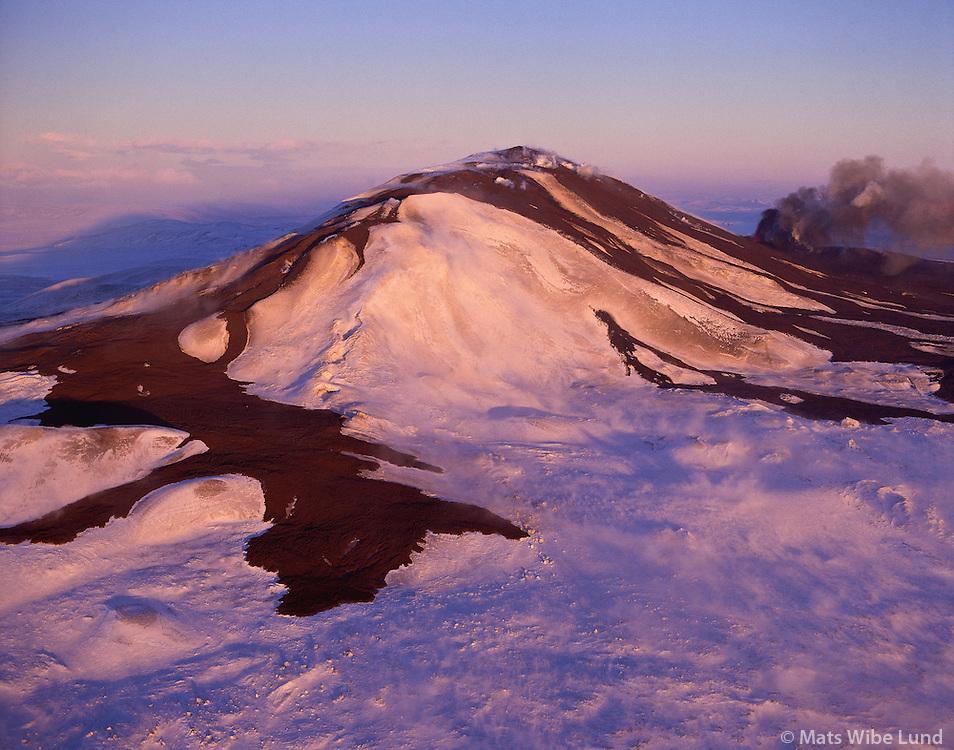 Hekla séð til norðurs, Hálendið / Hekla viewing north, Highlands