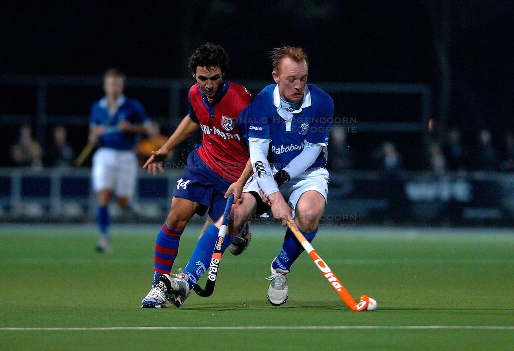 30-03-2007 HOCKEY: KAMPONG - SCHC: UTRECHT<br /> Kampong verliest met 4-0 van SCHC - Joost van den Berg<br /> &copy;2007-WWW.FOTOHOOGENDOORN.NL