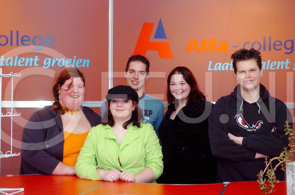 060420, hardenberg,ned<br /> Alfa college start winkel die door leerlingen worden gevoerd.<br /> fotografie frank uijlenbroek&copy;2006 frank uijlenbroek