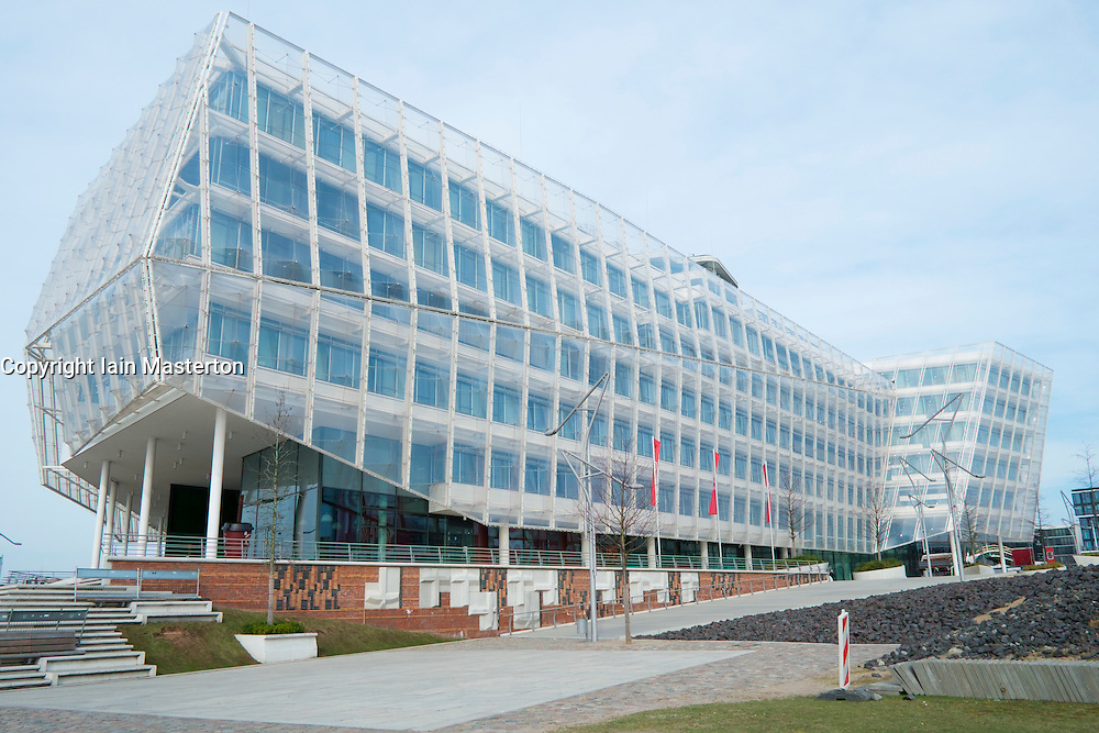 Headquarters office building of Unilever in Hamburg Germany