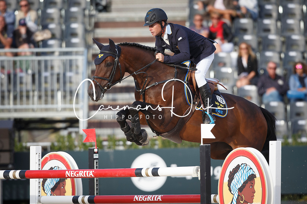 Bengtsson Rolf Goran, (SWE), Unita Ask <br /> First Round<br /> Furusiyya FEI Nations Cup Jumping Final - Barcelona 2015<br /> © Dirk Caremans<br /> 24/09/15