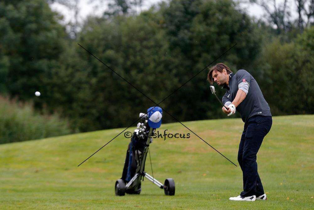 30.07.2014; Luterbach; Eishockey - Swiss Ice Hockey Golf Trophy 2014;   Thierry Paterlini (Christian Pfander/freshfocus)