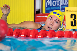 August 3, 2018 - Glasgow, UNITED KINGDOM - 180803 Magdalena Kuras of Sweden after competing in the qualifications of women's 4x100 meter freestyle relay swimming during the European Championships on August 3, 2018 in Glasgow..Photo: Joel Marklund / BILDBYRN / kod JM / 87765 (Credit Image: © Joel Marklund/Bildbyran via ZUMA Press)