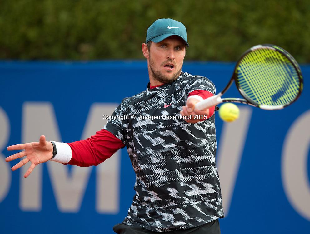 Mischa Zverev (GER)<br /> <br /> Tennis - BMW Open - ATP -   - Muenchen - Bayern - Germany  - 28 April 2015. <br /> &copy; Juergen Hasenkopf