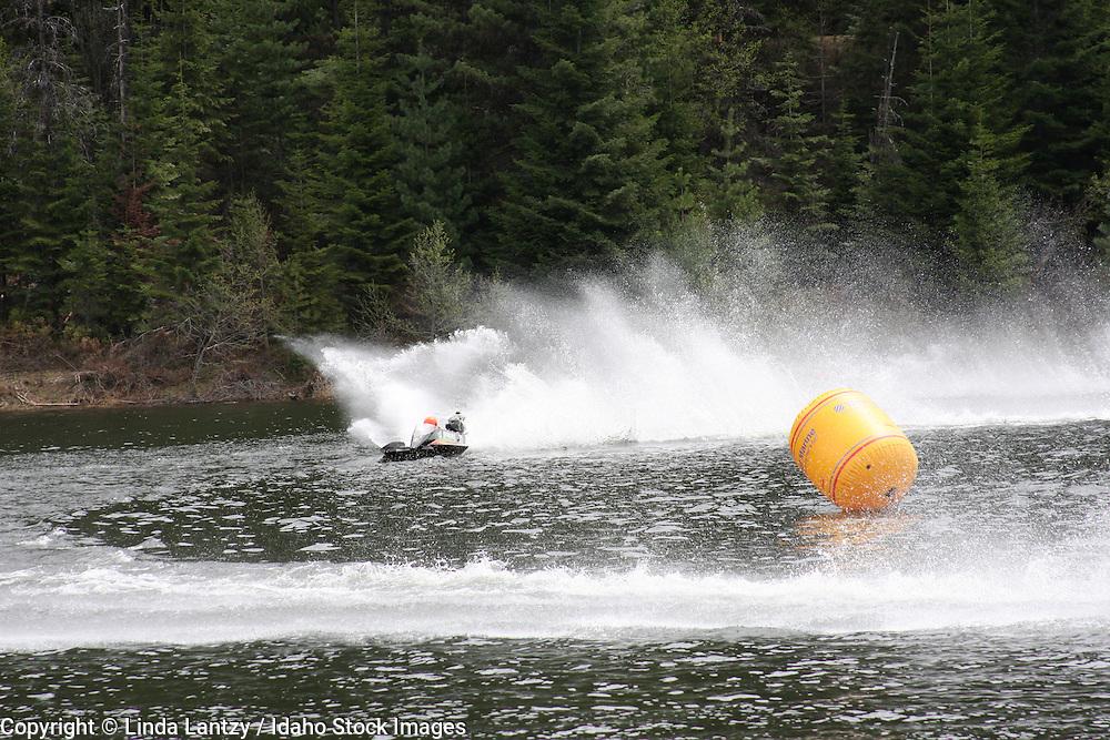 Mini Hydros race on Elk creek Reservoir during the season opener, May, 2008.