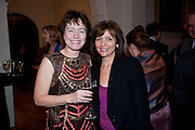 DEBORA POPPLEWELL;  JANET BROADHURST, Founding Fellows 2010 Award Ceremony. Foundling Museum on Monday  8 March