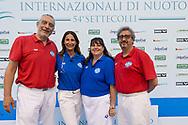giudici arbitri<br /> day 02  24-06-2017<br /> Stadio del Nuoto, Foro Italico, Roma<br /> FIN 54mo Trofeo Sette Colli 2017 Internazionali d'Italia<br /> <br /> Photo Giorgio Scala/Deepbluemedia/Insidefoto
