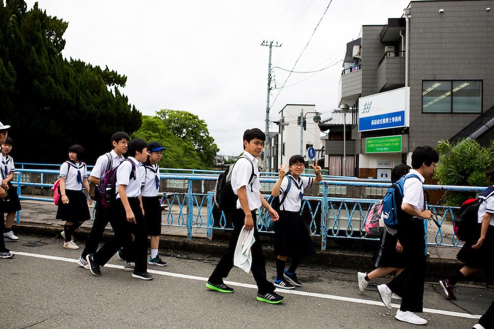 KYOTO, JAPAN - MAY 30 :  A day walk in Kyoto trail, Kyoto prefecture, Japan, May 30, 2016. <br /> <br /> Photo: Richard Atrero de Guzman