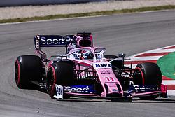 May 11, 2019 - Barcelona, Spain - Motorsports: FIA Formula One World Championship 2019, Grand Prix of Spain, .#11 Sergio Perez (MEX, Racing Point F1 Team) (Credit Image: © Hoch Zwei via ZUMA Wire)
