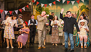 Dress rehearsal of The Sorcerer performed by the National Gilbert & Sullivan Opera Company in Buxton Opera House, Buxton, England on Saturday 04 August 2018 Photo: Jane Stokes<br /> <br /> Director: John Savournin<br /> Conductor: James Hendry<br /> Choreographer: Damian Czarnecki<br /> <br /> CAST<br /> <br /> SIR MARMADUKE POINTDEXTRE/Eddie Wade<br /> ALEXIS/Nick Sales<br /> DR DALY/Matthew Kellett<br /> NOTARY/Stephen Godward<br /> JOHN WELLINGTON WELLS/ Richard Gauntlett<br /> LADY SANGAZURE/Mae Hendorn<br /> ALINE/Ellen Williams<br /> MRS PARTLET/Ros Griffiths<br /> CONSTANCE/Emma Watkinson<br /> <br /> THE CHORUS<br /> <br /> Hannah Boxall, Nicole Boardman, Rhiannon Doogan, Joanna Goldspink, Alexandra Hazard, Maisy Hepburn, Juliet Montgomery, Jennifer Parker, Julie Power, Stephanie Poropat, Eloise Waterhouse<br /> <br /> Andrew Brown, Tom Blackwell, Peter Brooks, Stephen Fawell, Matthew Kellett, Michael Vincent Jones, Matthew Siveter, Henry Smith, Jonathan Stevens, Tim Southgate<br /> <br /> PRODUCTION TEAM<br /> <br /> TOUR MANAGER/Neil Smith<br /> STAGE MANAGER/Sarah Kent<br /> ASSISTANT STAGE MANAGER/Claire Litton<br /> LIGHTING DESIGN/David Marsden<br /> WARDROBE SUPERVISOR/ David Morgan<br /> SET DESIGN/ Paul Lazell<br /> REPETITEUR/Erica Gundesen