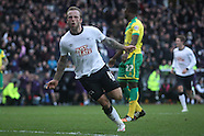 Derby County v Norwich City 20/12/2014