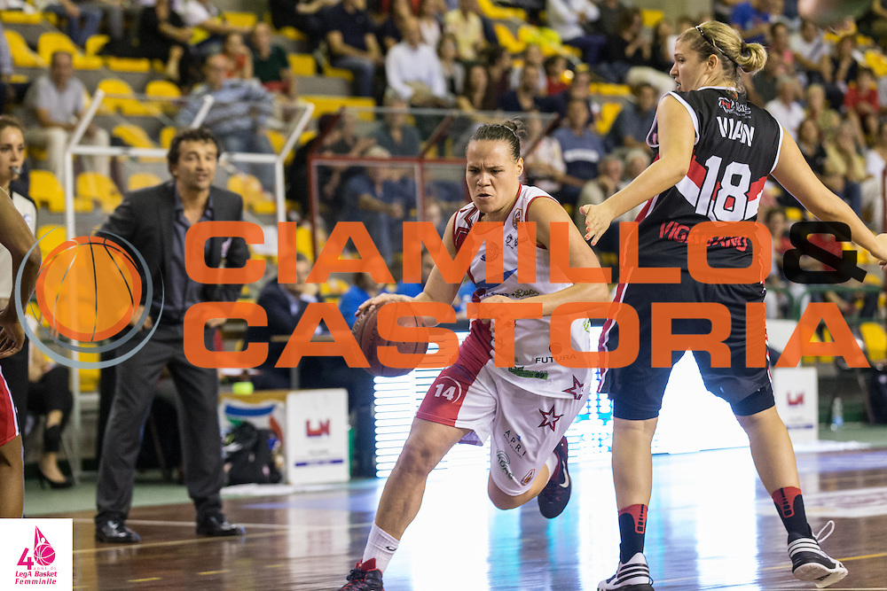 Martina Crippa <br /> Gesam Gas Lucca Meccanica Novo Vigarano<br /> LegA Basket Femminile 2016/2017<br /> Lucca, 02/10/2016<br /> Foto Elio Castoria/Ciamillo-Castoria