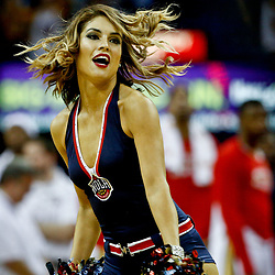 Dec 13, 2016; New Orleans, LA, USA;  New Orleans Pelicans dance team performs during the second half of a game against the Golden State Warriors at the Smoothie King Center. The Warriors defeated the Pelicans 113-109. Mandatory Credit: Derick E. Hingle-USA TODAY Sports