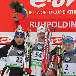 20110114: GER, IBU Biathlon World Cup, Sprint Men, Ruhpolding