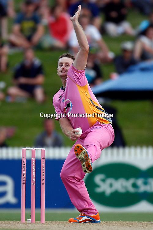 Scott Styris during the HRV Cup match between the Northern Knights v Otago Volts. Men's domestic Twenty20 cricket. Seddon Park, Hamilton, New Zealand. Thursday 19 January 2012. Ella Brockelsby / photosport.co.nz