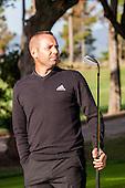 PGA Golf. Clinic Sergio Garcia.
