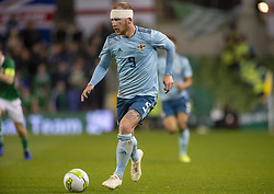 November 15, 2018 - Dublin, Ireland - Liam Boyce of N.Ireland in action during the International Friendly match between Republic of Ireland and Northern Ireland at Aviva Stadium in Dublin, Ireland on November 15, 2018  (Credit Image: © Andrew Surma/NurPhoto via ZUMA Press)
