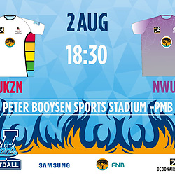 02,08,2018 UKZN Football and NWU Football