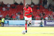 Swindon Town's Anthony Grant during the EFL Sky Bet League 2 match between Swindon Town and Macclesfield Town at the County Ground, Swindon, England on 14 September 2019.