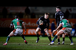 Guinness PRO14, Rodney Parade, Newport, UK 06/03/2020<br /> Dragons vs Benetton Rugby<br /> Jack Dixon of Dragons is marked by Nicola Quaglio of Benetton Rugby <br /> Mandatory Credit ©INPHO/Ryan Hiscott