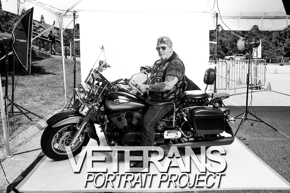 Bruce Thibodeau<br /> Army<br /> E-6<br /> 1967 - 1974<br /> Infantry<br /> Vietnam War<br /> <br /> Veterans Portrait Project<br /> Laconia, NH<br /> Laconia Bike Week