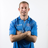 Frazer Wright, St Johnstone FC...Season 2014-2015<br /> Picture by Graeme Hart.<br /> Copyright Perthshire Picture Agency<br /> Tel: 01738 623350  Mobile: 07990 594431