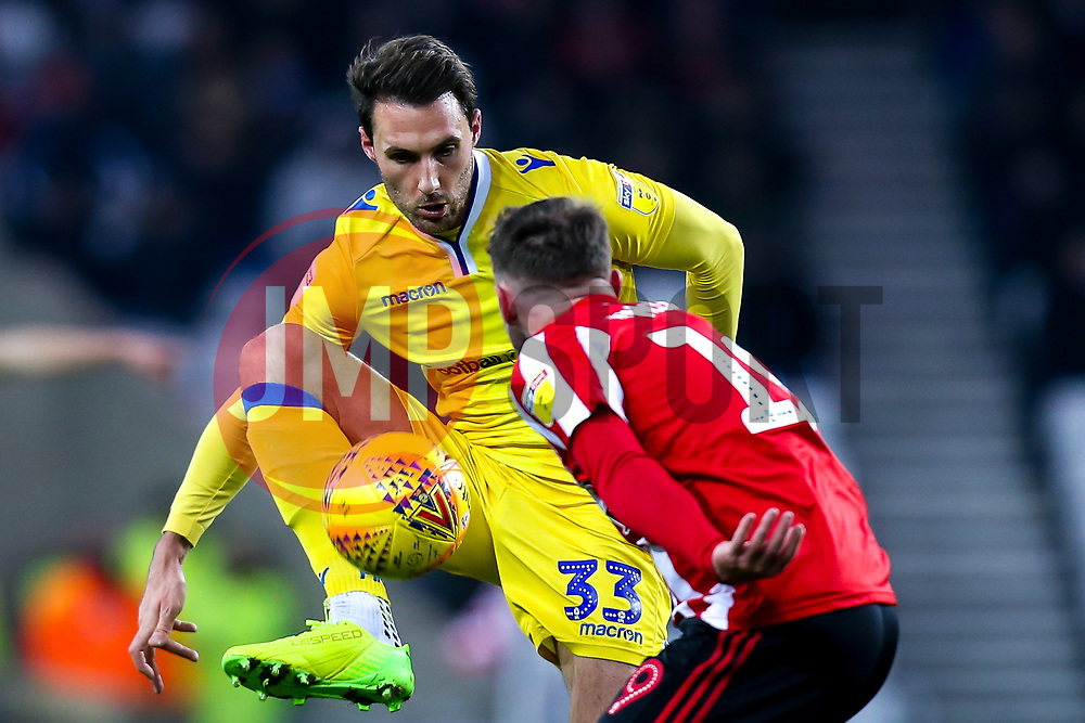 Alex Rodman of Bristol Rovers takes on Aidan McGeady of Sunderland - Mandatory by-line: Robbie Stephenson/JMP - 15/12/2018 - FOOTBALL - Stadium of Light - Sunderland, England - Sunderland v Bristol Rovers - Sky Bet League One