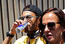 May 12, 2019 - Barcelona, Catalonia, Spain - Neymar Jr. and Dani Alves in the GP Spain Formula 1, on 12th May 2019, Barcelona, Spain. (Credit Image: © Joan Valls/NurPhoto via ZUMA Press)