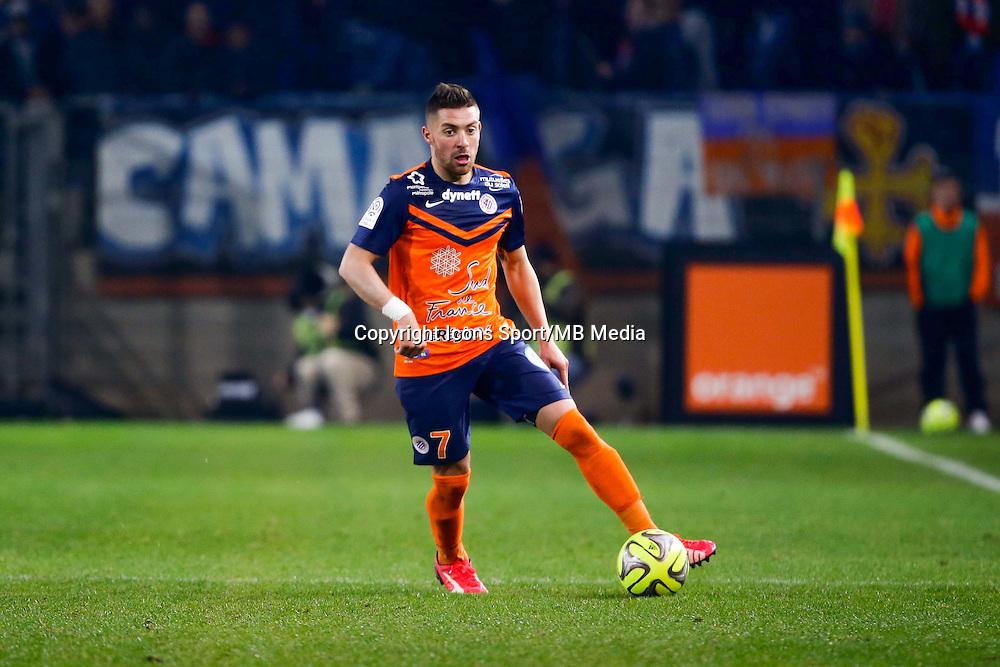 Anthony Mounier - 08.03.2015 -  Montpellier / Lyon  -  28eme journee de Ligue 1 <br />Photo : Andre Delon / Icon Sport<br /><br />  *** Local Caption ***