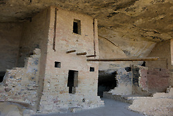 Balcony House ruins, Mesa Verde National Park, near Cortez, Colorado.