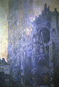 Rouen Cathedral, Albany Tower, Early Morning' 1894: Claude Monet (1840-1926) French artist. Oil on canvas.