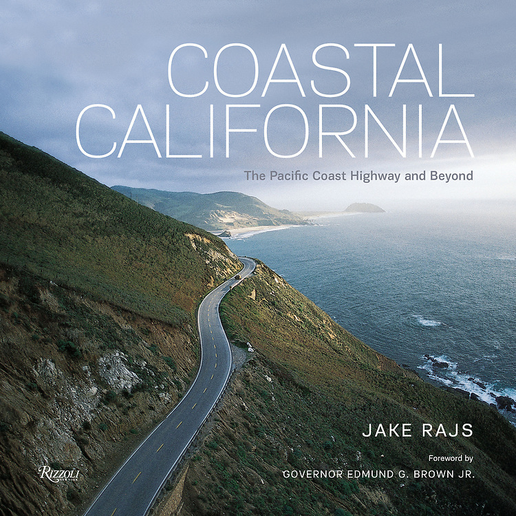 &quot;Coastal California: The Pacific Coast Highway and Beyond&quot; with an introduction by Governor Edmund Gerald Brown Jr,.  Published by Rizzoli Books<br /> <br /> An unprecedented book showcasing the California coast via the Pacific Coast Highway and beyond.<br /> As America stands to the rest of the world, so stands California to America&mdash;a shining promise of endless possibility. California is both dream and reality. Coastal California is for anyone who has felt the lure of a Pacific sunset. From the physical beauty of Monterey to the grandeur of Southern California, photographer Jake Rajs displays his skillful command of capturing the coastline and the Pacific Ocean in every season and the land that is affected by it. Including such locations as Redwood National Park, Point Reyes National Seashore, Sausalito, Huntington Beach, Long Beach, and Pacific Palisades, Coastal California is sure to be the gift book of the year for those who feel the rush of the Pacific Coast Highway and those who just dream of it.<br /> <br /> &quot;California&rsquo;s coast is no hidden secret, of course, but Jake Rajs&rsquo; lavish book gives us a new appreciation of its hundreds of miles of grandeur. His 175 radiant photographs range from the wild, rocky shores of Mendocino to the sun-drenched beaches of San Diego.&quot;<br /> &mdash;San Francisco Chronicle<br /> <br /> &ldquo;Inspiring, transporting and just plain gorgeous coffee table book&hellip; Photographs capturing the stunning views and landscapes of the 840 miles of the California coast, from sandy summer beaches to rocky windswept cliffs.&quot;<br /> &mdash;Los Angeles Times