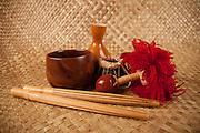 Koa wood bowl, Hawaii
