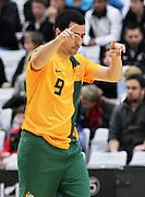 during the 2013 ASB Trans Tasman Cup. Futsal Whites v Futsal Roos. ASB Sports Centre, Wellington.  Saturday 20 July 2013. Photo: Justin Arthur / photosport.co.nz