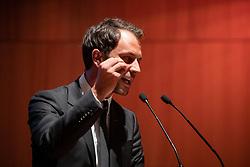 02.03.2019, Haus der Musik, Innsbruck, AUT, SPÖ Tirol, Parteitag Tiroler SPÖ mit Wahl des Obmannes, im Bild designierte Parteivorsitzende der Tiroler SPÖ, Georg Dornauer // during a Party Congress of the Tyrolean SPÖ with election of the chairman at the Haus der Musik in Innsbruck, Austria on 2019/03/02. EXPA Pictures © 2019, PhotoCredit: EXPA/ Johann Groder