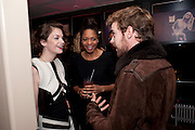 RUTH WILSON; NAOMIE HARRIS; LUKE TREADAWAY, InStyle Best Of British Talent , Shoreditch House, Ebor Street, London, E1 6AW, 26 January 2011