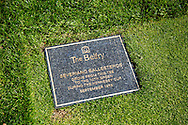10th Hole Seve Ballesteros driver plaque<br /> The Belfry Brabazon golf course Ryder Cup Venue, Sutton Coldfield England UK<br /> <br /> <br /> Picture Credit: Mark Newcombe / visionsingolf.com