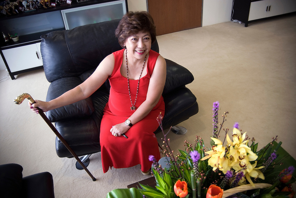 Lillian Too, best-selling author, television personality and Feng Shui practitioner from Malaysia. She has written over 80 books on Feng Shui, which have been translated into 30 languages.