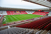 General view inside the Stadium of Light, Sunderland, England before the EFL Sky Bet League 1 match between Sunderland AFC and Luton Town  on 12 January 2019.