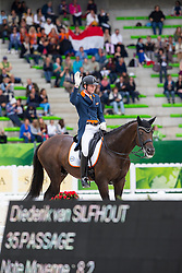 Diederik van Silfhout, (NED),  Arlando TN N.O.P. - Grand Prix Special Dressage - Alltech FEI World Equestrian Games™ 2014 - Normandy, France.<br /> © Hippo Foto Team - Leanjo de Koster<br /> 25/06/14