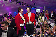NICK WILLIAMS-WYNN; JACK WOOLLEY, Quorn Hunt Ball, Stanford Hall. Standford on Soar. 25 January 2014
