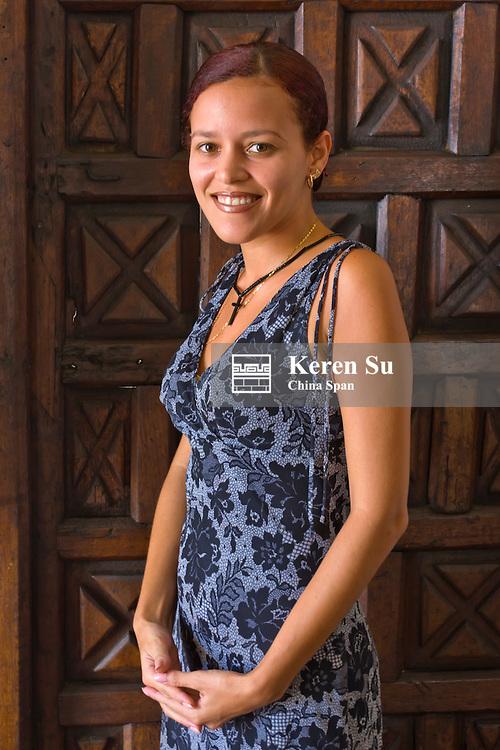 Portrait of a woman, Trinidad, Cuba